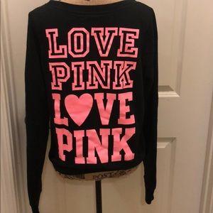 Pink love pink sweatshirt